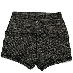 4 / Lululemon movement shorts